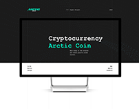 Cryptocurrency Arctic Coin
