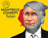 Montreux Comedy Festival 2017 Illustrations