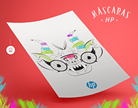 Celebra Perú con HP - Máscaras