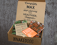 Subscription Box Mock-Up for Protein for Pets