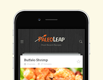 PaleoLeap Cookbook App