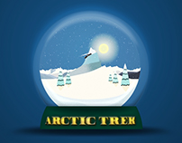 Arctic Trek - Holiday Animation