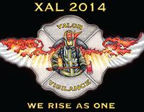 Flag for Alameda Fire Academy XAL 2014 graduating class