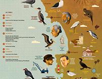 Mapa Litoral de los Poetas