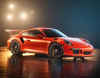Porsche Fog Play - CGI & Retouching