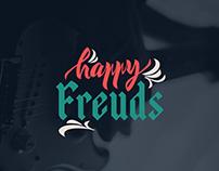 Happy Freuds  Lettering Logotype