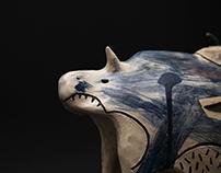 Размножавање/Reproduction (Ceramic sculpture)