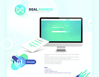 Deal Awards (website and admin panel)