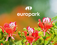 Redesign of a website for Europark