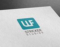 """Логотип и фирменный стиль """"ULF STRICKER"""""""