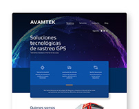 Web design: GPS Company.