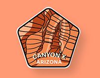 Destination Badge Series