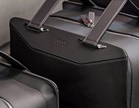 Audi Premium Leather Luggage / 2012
