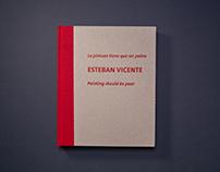 La pintura tiene que ser pobre - Esteban Vicente