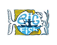 "Branding for Shop fishing equipment ""BIG FISH"""