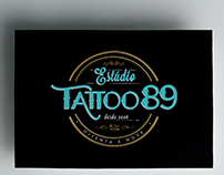 Logo -  Estúdio Tattoo 89