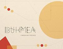 BUHMEA: An Experimental Modular Typeface