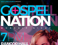 Gospel Nation Flyer Template