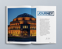 Journey Magazine // Editorial Design