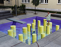 3D installation in Lisbon