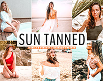 Free Sun Tanned Mobile & Desktop Lightroom Presets