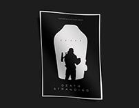 Death Stranding minimalist poster