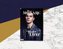 Monarc - Le Luxe à la Française | Editorial Design
