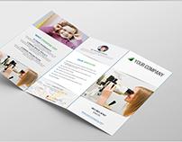 Tri fold A4 Brochure Template