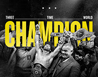 Official Canelo Champion Art