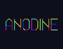 Anodine - Animated Typeface