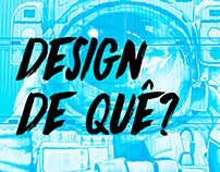 Design de quê?   Projeto de Conclusão de Curso