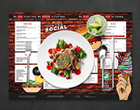 Menu design, Intro Social