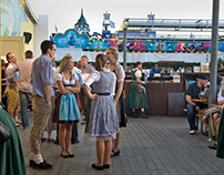 the people of Oktoberfest