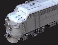 EMD FP7 Locomotive