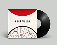 "Kraftwerk ""Tour de France"" - vinyl cover"