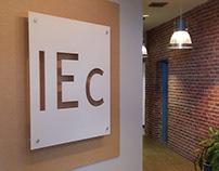 IEc lobby sign