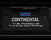 Branding - CONTINENTAL | the porsche tuning company