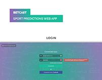 Betcast - Sport predictions Web App