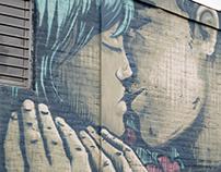 Marta y Antonio. Street art Paraguay.
