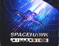 Music Album Artwork Spacehawk - Millennium