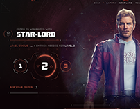 Guardians of the Galaxy vol.2 | UI DESIGN