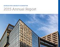GSU Foundation 2015 Annual Report
