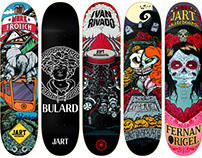 Jart Skateboards - Cut Off Pro Series