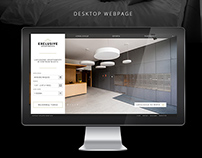Exclusive Apartments - Web Design & Rebranding