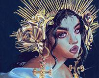 Saint Women Serie (personal project)