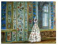 """""""Valentino. Ghost of the Hermitage"""" watercolor"""