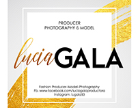 Lucia Gala design Logo and Brand