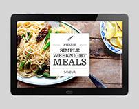 Saveur Recipe eBook