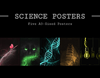 Science Posters - Five A3-Sized Posters
