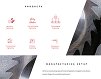 Web Design for a Manufacturing firm!